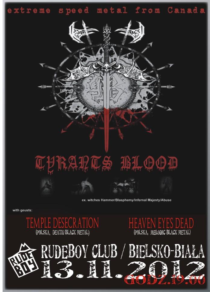 Tyrants Blood @ Bielsko-Biała